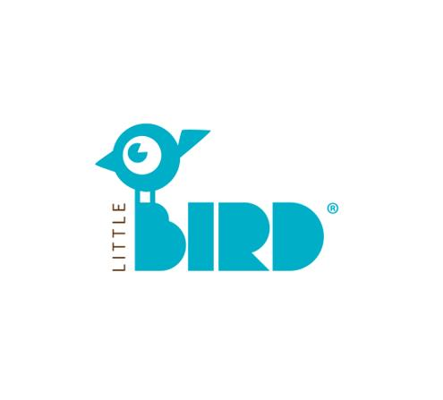 Little Bird Logo Klein
